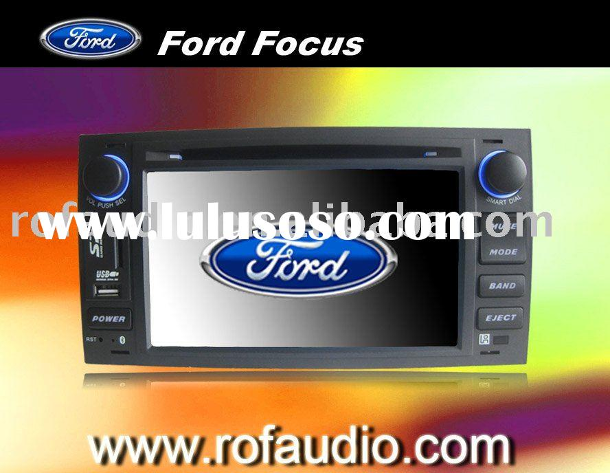for Ford Focus car dvd player with ipod tv bt GPS