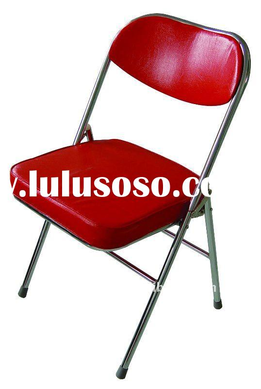 Metal Padded Folding Chairs red metal folding chairs | winda 7 furniture