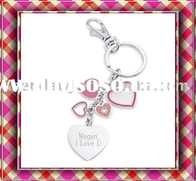 heart shaped keychain (promotion gift)