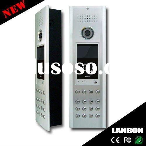 high level wireless doorbell intercom system