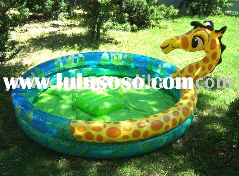 inflatable animal pool
