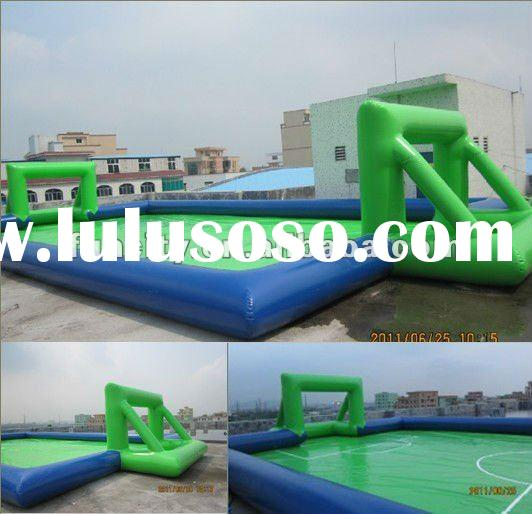 inflatable football play field