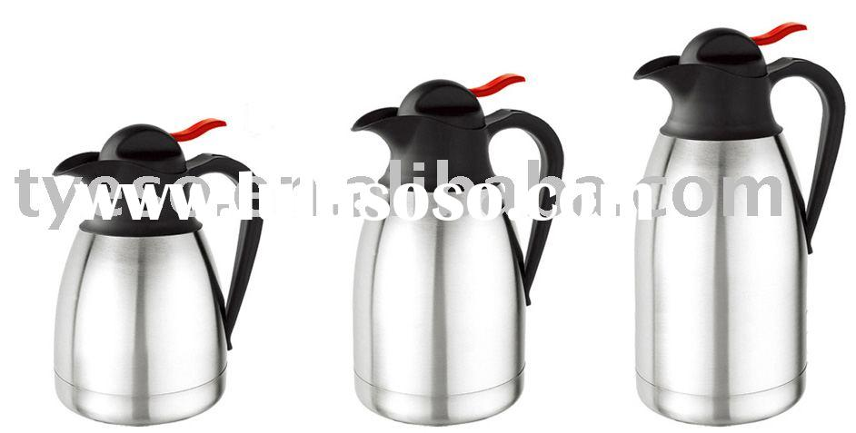 large style stainless steel coffee pot