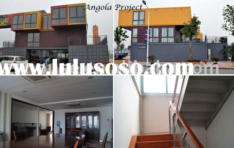living container house ---Angola Project