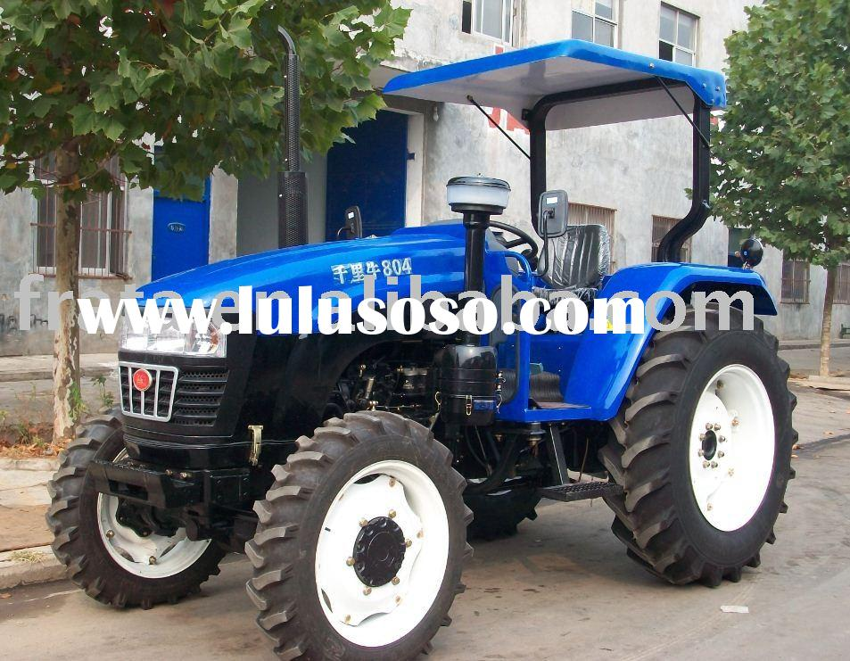 low price FOTON Perkins engine 80HP 4WD farm Tractor (EPA , EEC, E-mark, OECD approved)