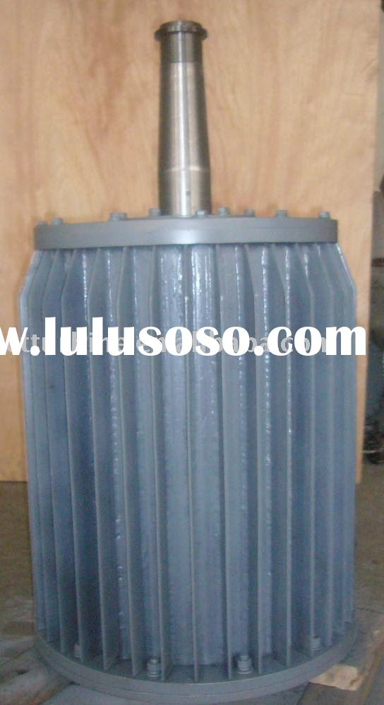 low rpm, three phase, permanent magnet generator for vertical wind turbine