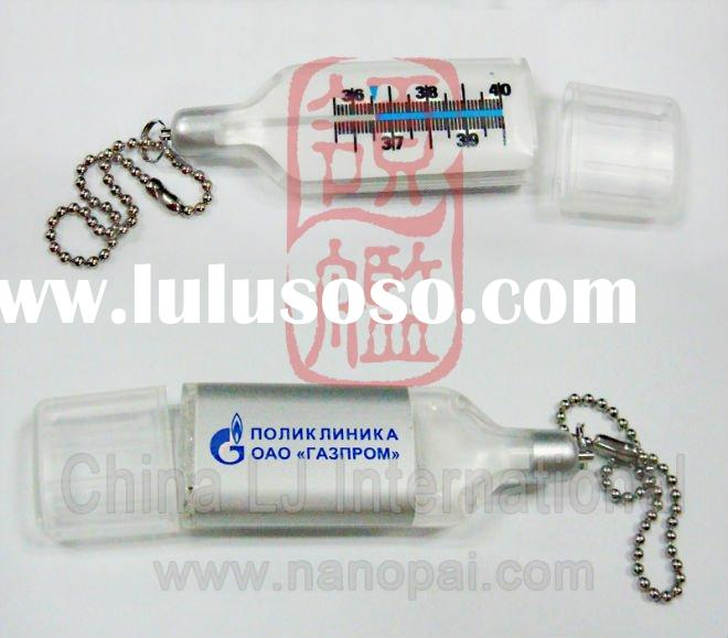medical promotion gift usb, clinical thermometer USB Flash Drive