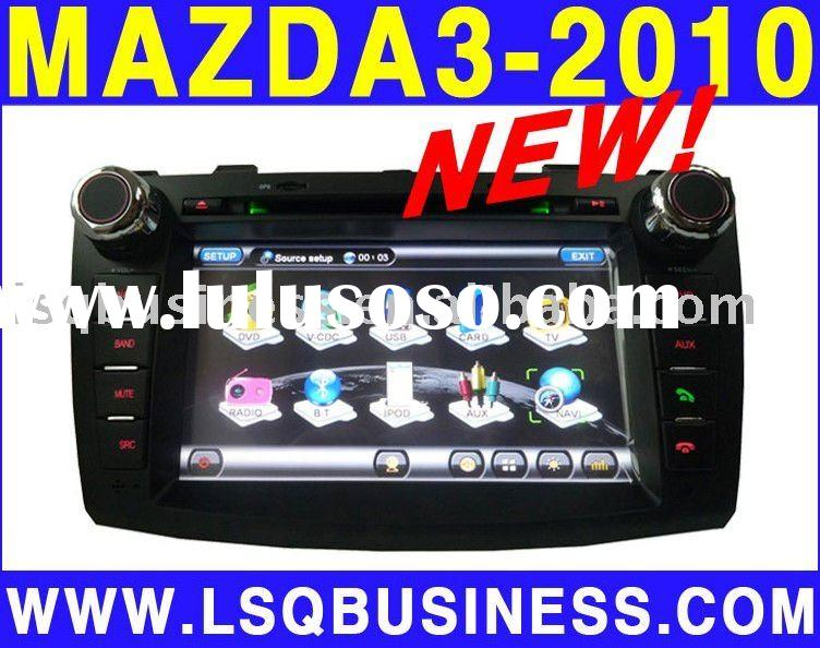 new 2010 mazda 3 car dvd gps, dual zone/ canbus steering/cdc/ pip/ ipod/ tv/ radio/ bt, hot