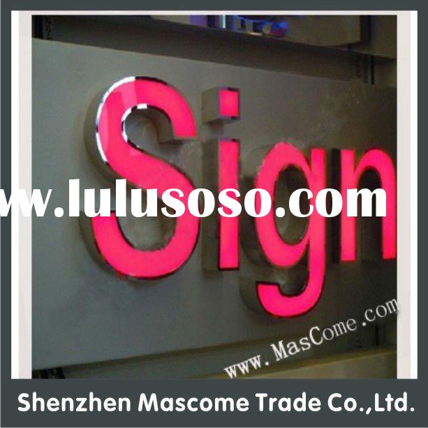 outdoor acrylic LED advertising letter signage