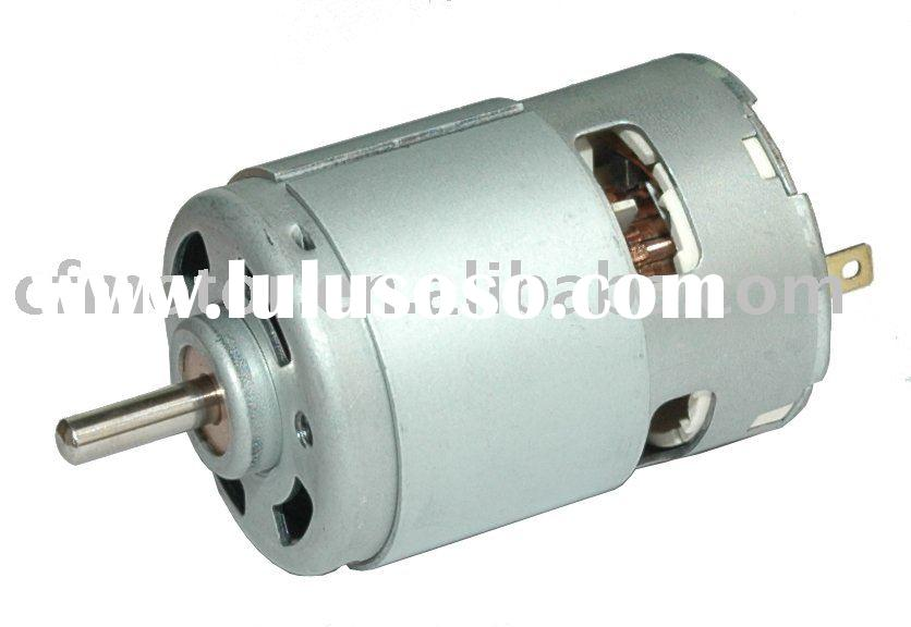 printer motor,Drill motor RS-750H/755H,dc motor high RPM
