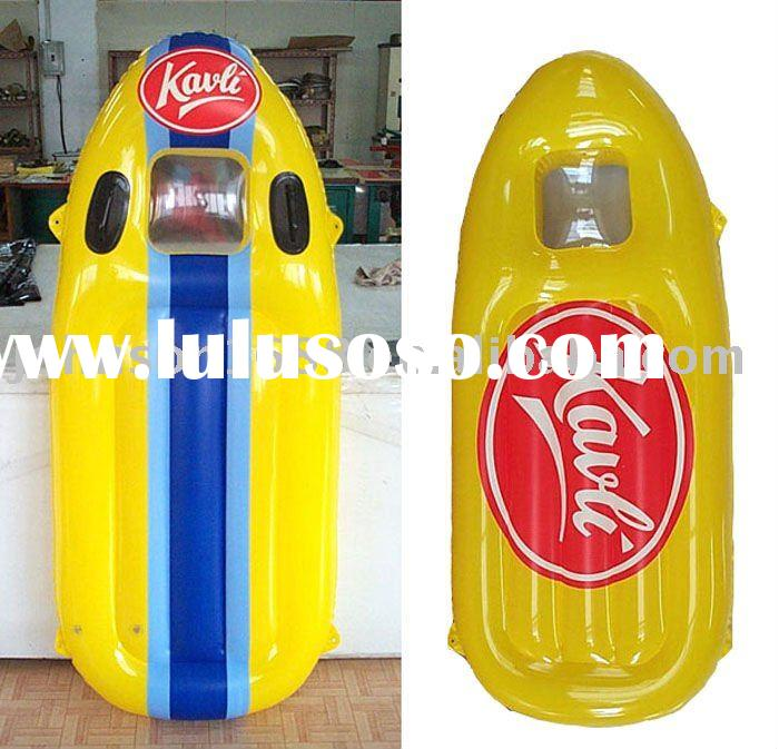 pvc inflatable beach surfboard for advertising