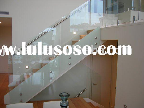 safety toughened glass for balustrades, fence, handrail