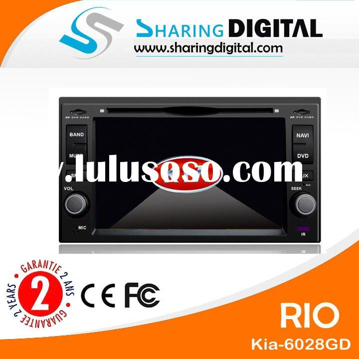 sharing digital touch screen kia rio car dvd player