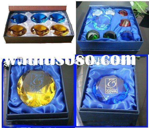 shinning crystal diamond for wedding gifts and decoration