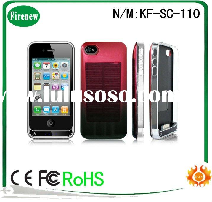 solar battery case for iphone 4/4S
