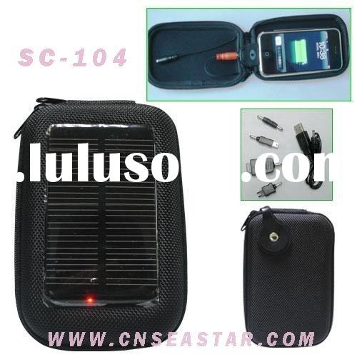 solar mobile charger bag,solar cell charger,mini solar charger SC-104