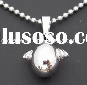 stainless steel jewelry/casting pendant/lady pendant/solid pendant/shiny polish