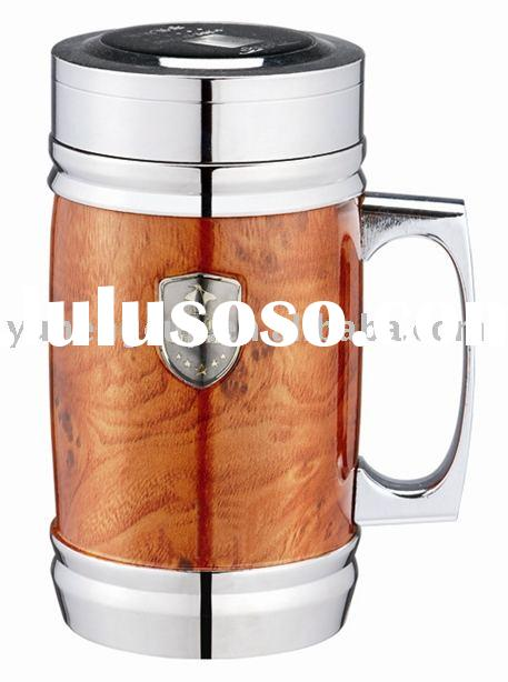 stainless steel vacuum insulated office mug,promotion gift mug,popular office cup,work cup,insulatio