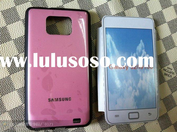 tpu+pc samsung galaxy s2 i9100 soft case mobile phone cover