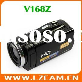 wholesale 3.0 inch touch screen LCD 270 degree rotation 16xDigital zoom 12MP 720p hd digital video c