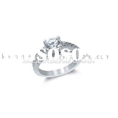 wholesale 925silver jewelry,silver ring with semi-precious stone
