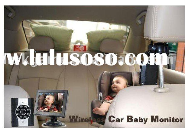 wireless video baby monitor for driving car