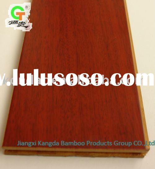 wood-like bamboo flooring carbonized with chestnut color