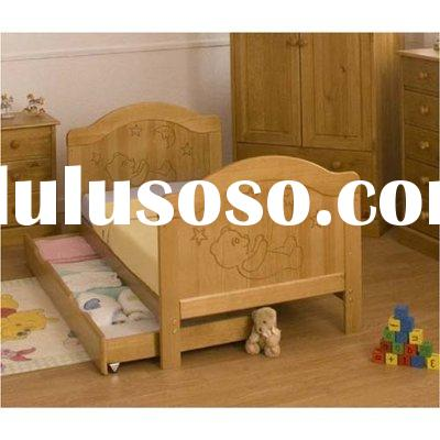 wooden bunk bed/solid wood bunk bed