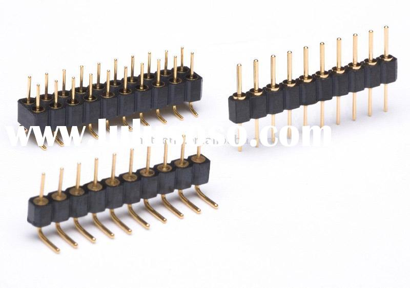 1.27, 1.778, 2.0, 2.54mm Pitch Pin Connectors
