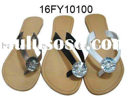 2011 Fashion style fancy ladies TPR sandals