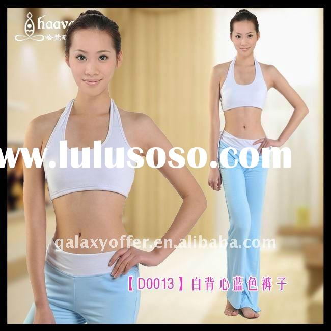2011 Hot Popular Yoga Suits Top tee shirt and pants shorts yoga products