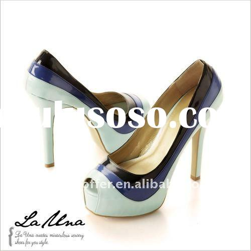 2011 NEW brand lady shoes women's high heeled shoes sandals slippers cheap shoes Size:35-39