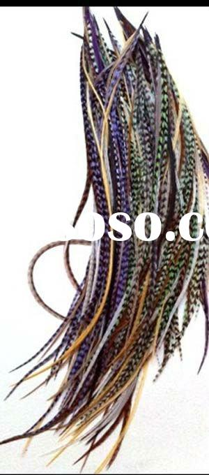 2011 Top new very hot selling real feather extensions for hair extensions(BD-11082503)