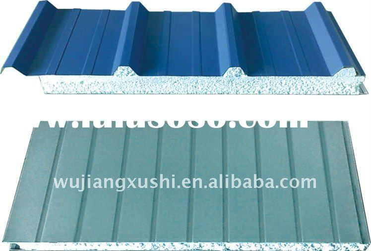 2011 beautiful appearance EPS sandwich panel for wall & roof