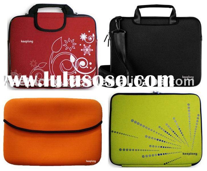 2011 new 3mm thickness neoprene laptop bag with handle