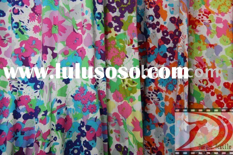 2011 new designed rayon printed fabric