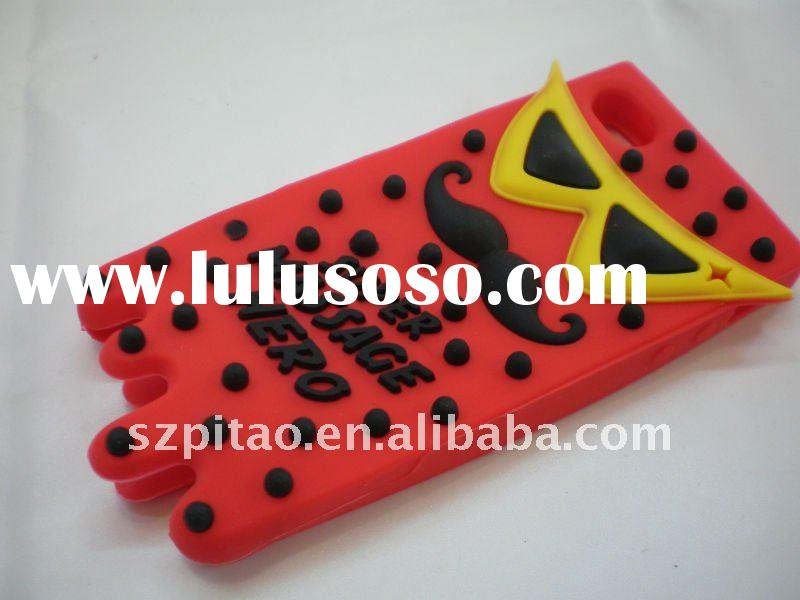 2011 newest arrival silicon case for iphone4