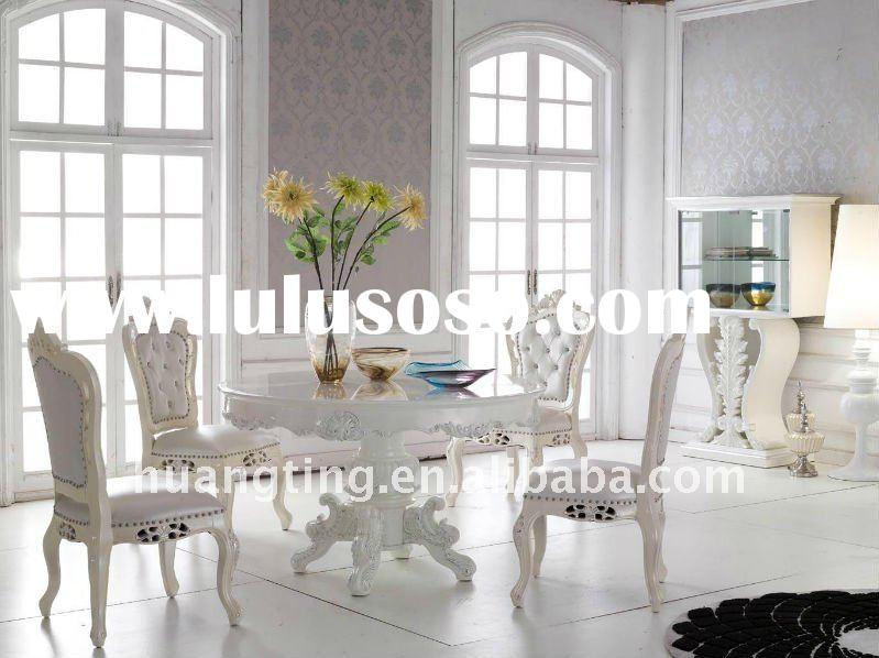 2011neoclassic round dining table/ palace royal furniture/ high-end luxury furniture