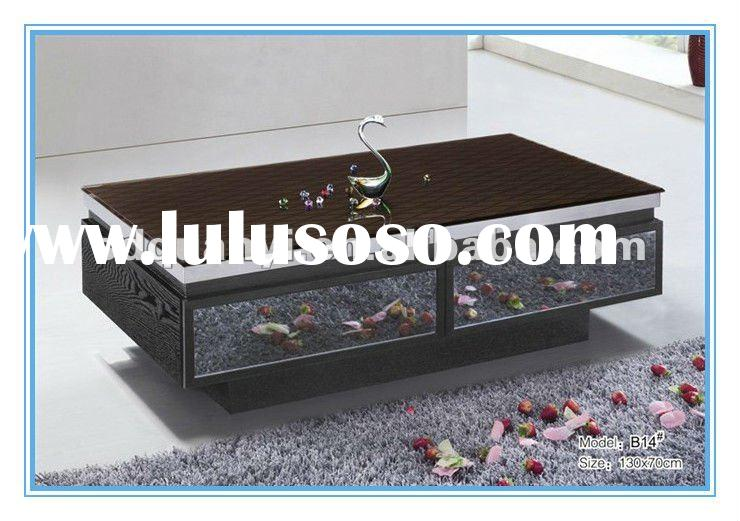 2012 New design glass coffee table Item G3014
