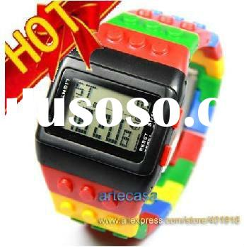 2012 Newest Styles,Free Shipping, 30 Pcs/ Lot Fashion Wathes Men Style, Night Light Waterproof Full