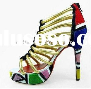 2012 hot sale shoes woman fashion design size 36-41 L7