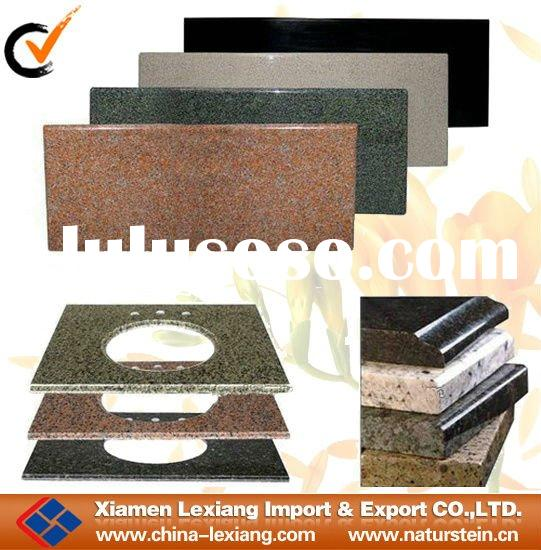 2012 popular granite bathroom vanity top