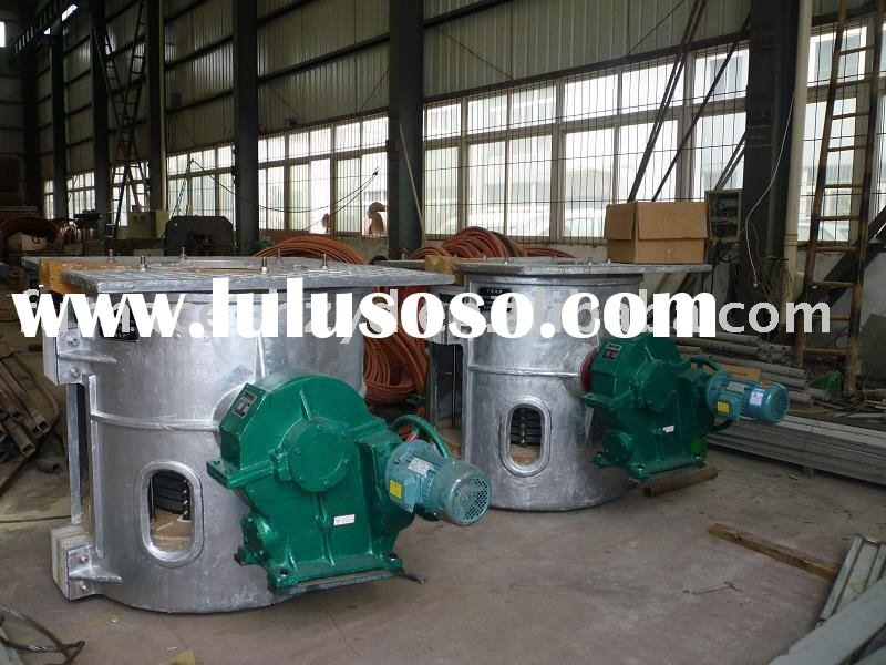 250kg copper melting furnace medium frequency furnace frequency induction furnace steel-making furna