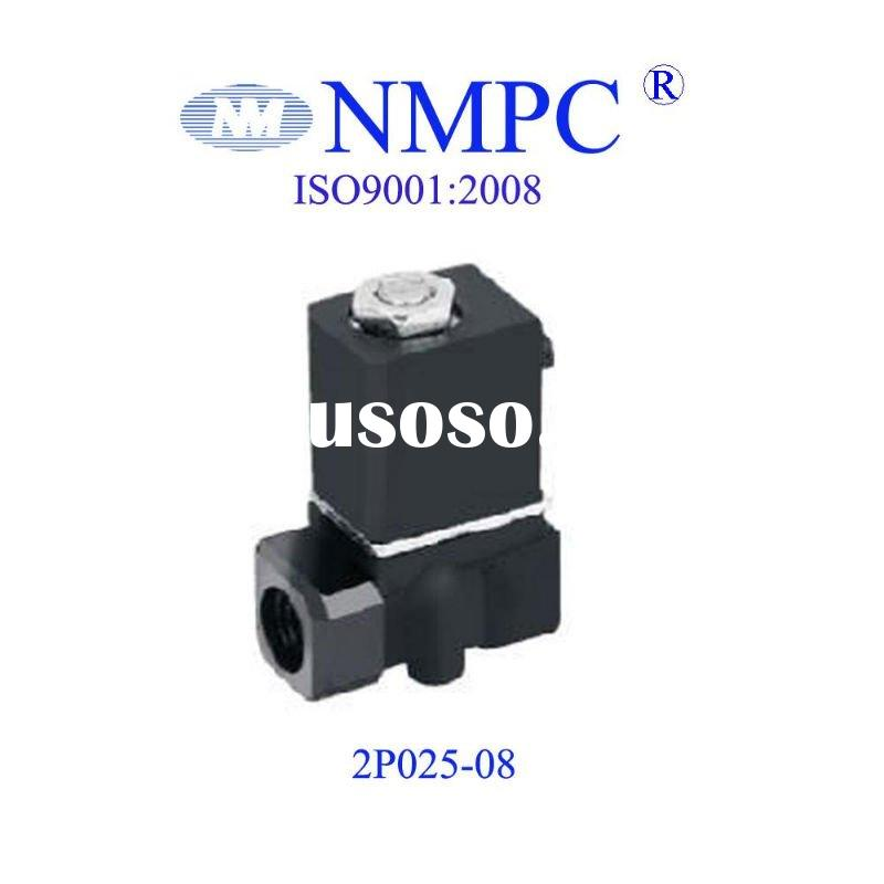 2P025-08 series Plastic Solenoid Valve/ 2 way/water,air,oil