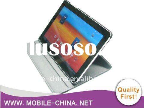 360 Degree Rotating Leather Case For Samsung galaxy tab 10.1