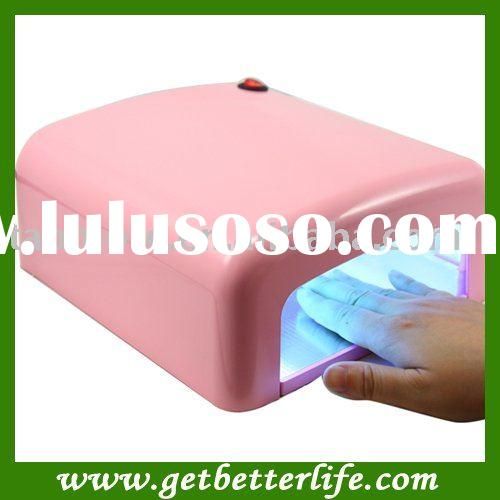 36W UV GEL NAIL LAMP - Pink color Induction with CE