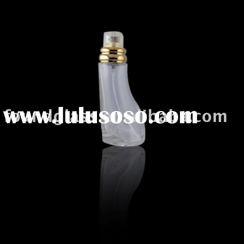 50ml frosted glass perfume bottle cosmetic packaging spray pump bottles FG-584