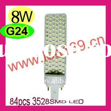 8W g24 pl led light hot sale!!!