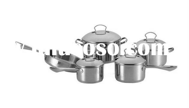 9 Pcs stainless steel cookware set