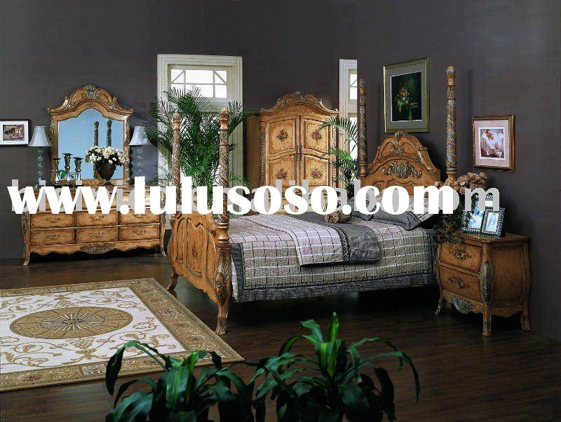 American classical bedroom sets,night stand,dresser,mirror,chest,TV armoire,luxury American furnitur